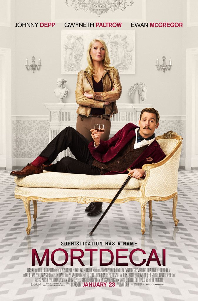 Mortdecai Final One Sheet